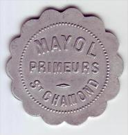 Monnaie De Nécessité - LOIRE 42 - St Chamond - Mayol Primeurs - 3 Francs - Monetari / Di Necessità
