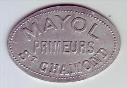 Monnaie De Nécessité - LOIRE 42 - St Chamond - Mayol Primeurs - 10 Francs - Monetari / Di Necessità