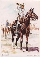 5th Cuirassiers 1914 Uniform Postcard (U14949) Copy Of A Postcard ??? - Uniforms