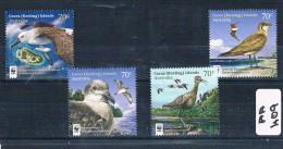 Cocos Isl 2015 Birds W.w.f. 4val  Muh AA409 - Cocos (Keeling) Islands