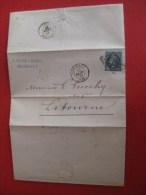 Lettre Napoléon III Empire Franc, Bordeaux, E PARIS & DAMAS, 26 Février 67, Libourne - 1862 Napoleone III