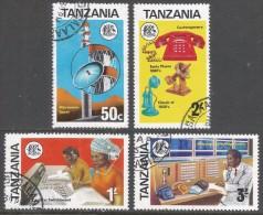 Tanzania. 1976 Telecommunications Development. Used Complete Set. SG 177-180 - Tanzania (1964-...)