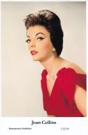 JOAN COLLINS - Film Star Pin Up - Publisher Swiftsure Postcards 2000 - Artiesten