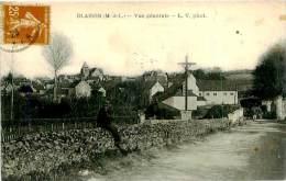 Belle  CPA  -  Blaison -  Vue Générale                 A1075 - France