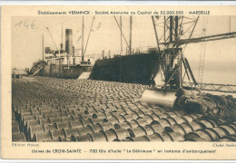 13 CROIX SAINTE MARSEILLE  BOUCHES DU RHONE PROVENCE USINE MARSEILLE VERMINCK USINES AVON - Marseille
