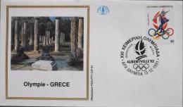 ENVELOPPE 1er JOUR 1991 - Olympie - Gréce - APX Olympia Le 13.12.1991 - Parfait état - - 1990-1999