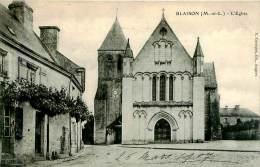 Belle  CPA  -  Blaison -   L 'Eglise                A1076 - Autres Communes