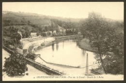 CHATEAUNEUF Du FAOU Vue Sur Canal Boucle De L'Aulne (Jézéquel) Finistère (29) - Châteauneuf-du-Faou