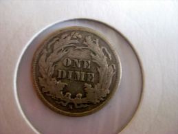 Dime 1891 S - 1837-1891: Seated Liberty