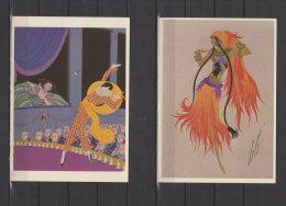 Erté   -  Lot De 24 Cartes   - Cpm - Other Illustrators