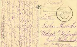 Postkaart/CP Oostende - Le Port - K.D. Feldpostexped.a - Soldatenbrief Landwehr-Infanterie-Rgt. 385 6. Kompagnie. - Guerre 14-18