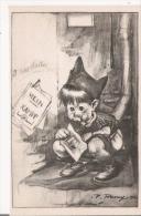CARTE ANTI NAZISME  (ILLUSTRATION DE P REMY GARCON AU TOILETTE AVEC MEIN KAMPF) 1940 - Weltkrieg 1939-45