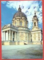 CARTOLINA VG ITALIA - TORINO - Basilica Di Superga - 10 X 15 - ANNULLO 1956 - Churches