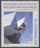 2012 - AUSTRIA - ARCHITETTURA / WOLKENTURM GRAFENEGG . MNH - 1945-.... 2a Repubblica
