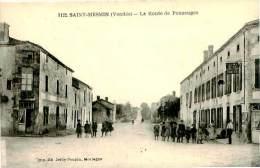 Belle Carte - Saint  Mesmin  - Route De Pouzauges , Animée                 A1043 - France