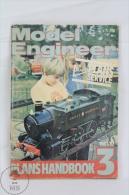 Model Engineer - Plans Handbook 3 - 1981 - 82 , Map Plans Service Magazinedvertising Azul Brasso - Libros Y Revistas