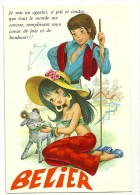 Astrologie. Bélier. Jeune Couple, Agnelet. C.y.Z. - Astrologie