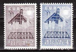 1025/26**  Europa 1957 - Série Complète - MNH** - LOOK!!!! - Belgique