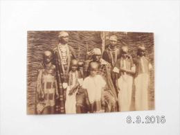 Mission Des Pères Blancs. - Le Grand Chef Bernardo Avec Sa Famille. - Rwanda