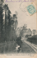 DUCLAIR - Le Chemin Des Fontaines Et Le Moulin - Duclair