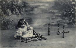 JEUX - QUILLES - Fantaisie Enfants - Bergeret - Jeux Et Jouets