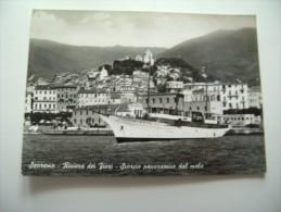 SANREMO  NAVE SHIP       LIGURIA    VIAGGIATA  COME DA FOTO - San Remo