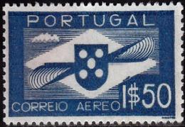 PORTUGAL-1936-1941,(CORREIO AÉREO)  Hélice.  1$50   (*) MNG  Afinsa  Nº 1 - Neufs