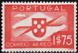 PORTUGAL-1936-1941,(CORREIO AÉREO)  Hélice.  1$75   (*) MNG  Afinsa  Nº 2 - Neufs