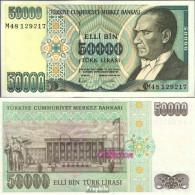 Türkei Pick-Nr: 204 Bankfrisch 1995 50 000 Lira - Türkei