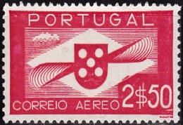 PORTUGAL-1936-1941,(CORREIO AÉREO)  Hélice.  2$50  (*) MNG  Afinsa  Nº 3 - Neufs
