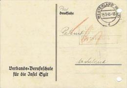 Deutsches Reich - Postkarte Echt Gelaufen / Postcard Used (D1193) - Deutschland