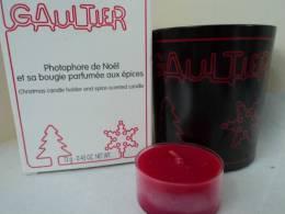 "GAULTIER "" PHOTOPHORE NOEL AVEC SA BOUGIE"" LIRE - Miniatures Womens' Fragrances (in Box)"