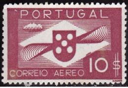 PORTUGAL - 1936-1941, (CORREIO AÉREO)  Hélice.  10$   (*) MNG  Afinsa  Nº 7 - Neufs