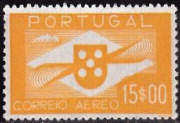 PORTUGAL - 1936-1941, (CORREIO AÉREO)  Hélice.  15$00   (*) MNG  Afinsa  Nº 8 - Neufs