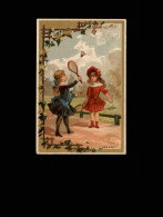 SPORTS - BADMINTON - Volant - Fantaisies Enfants - Eau Des Carmes BOYER - Chromos
