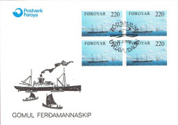 FAROE ISLANDS # FDC FROM YEAR 1983 - Faroe Islands