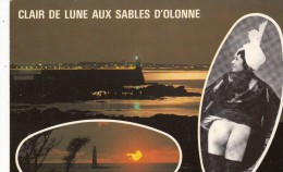 Clair De Lune Aux Sables D´Olonne - Nus Adultes (< 1960)