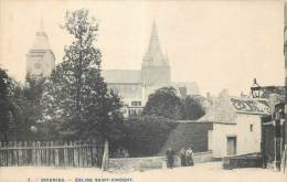 Soignies - Eglise Saint-Vincent - Edit. Bertels N° 7 - Soignies