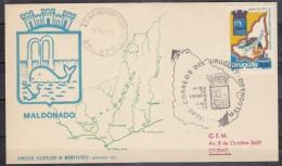Uruguay Maldonado 1v FDC (20129) - Uruguay