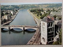 Huy, Pont Baudouin Et Collégiale - Huy