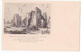 CHATEAU DE LA DURBELIERE , Brulé Par Les Bleus En 1793 Et Où Naquirent Les Généraux Vendéens Henri Et Louis De La Roche. - France