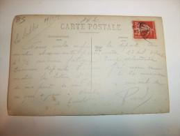 2yfy - CARTE PHOTO - SABLES D´OLONNE - Le Campement De La 9è Compagnie -  [85] - Vendée - Sables D'Olonne