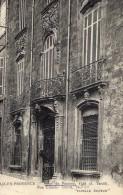 AIX EN PROVENCE HOTEL DE PANISSE RUE EMERIC(LOT S9) - Aix En Provence
