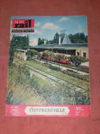 1955  LA VIE DU RAIL N° 503  / METIER CHEMINOT / TRAIN / CHEMINS DE FER   /  CONTREXEVILLE / BRETIGNY SUE ORGE - Trains