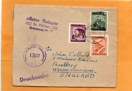 Austria Censored Cover Mailed To UK - 1945-.... 2nd Republic