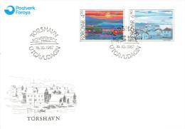 FAROE ISLANDS # FDC FROM YEAR 1987 - Faroe Islands