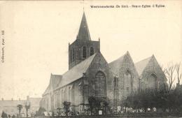 BELGIQUE - FLANDRE OCCIDENTALE - HEUVELLAND - WESTNIEUWKERKE-DE-KERK (NEUVE-EGLISE) - Eglise. - Heuvelland