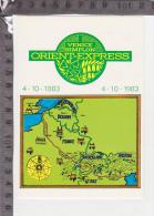 C-31825 1'' CENTENARIO ORIENT EXPRESS 1883 1983 - Manifestazioni