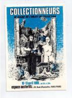 """"""" LES COLLECTIONNEURS PARIS 1986 """" - Bourses & Salons De Collections"""