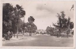 Afrique,africa,SENEGAL EN 1950,DAKAR,capitale Afrique Occidentale Française,boulevard Maritime,pompe à Essence,route - Sénégal